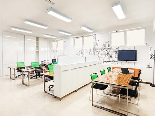 ENVIRONMENT オフィスの環境を整えたい コミュニケーションが 活発に行われるオフィスとは